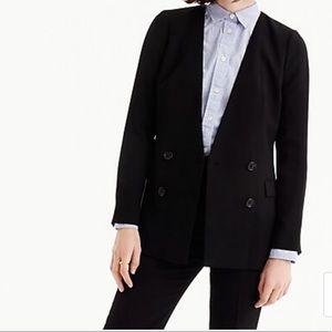 J. Crew French girl blazer in 365 crepe NWOT